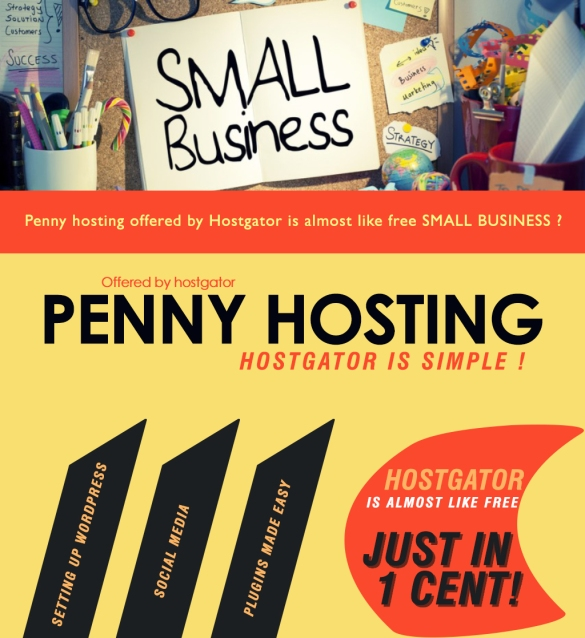 small business penny hosting