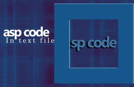 aspcodetext